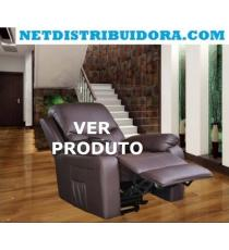 Poltrona Vibroluxe Relax Massagens bege