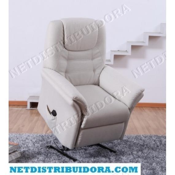 Cadeirão Confort Plus Poltrona Elevatória de massagens  (Bege)