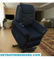Cadeirão Confort Plus Poltrona Elevatória de massagens  (Preto)