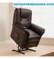 Cadeirão Confort Plus Poltrona Elevatória de Massagens (Castanho)