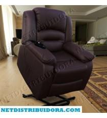 Poltrona Maximum Relax de Massagens Elevatória (castanho)