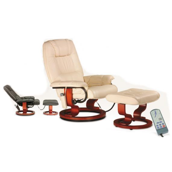 Cadeira de Massagens c/ apoio de pés Cor (Bege)