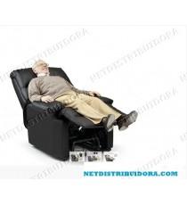 Poltrona Deluxe c/ Massagens Elevatória  (castanho)