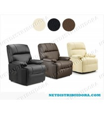 Poltrona Deluxe c/ Massagens Elevatória (preto)