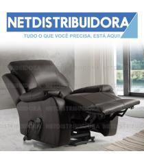 """Poltrona Luxury Confort  """"Castanho"""""""