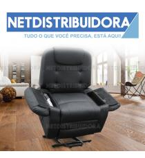Poltrona Massagens Shiatsu New York preto