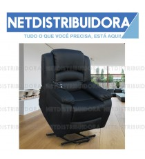 Poltrona Massagens Maximum Elétrica preto