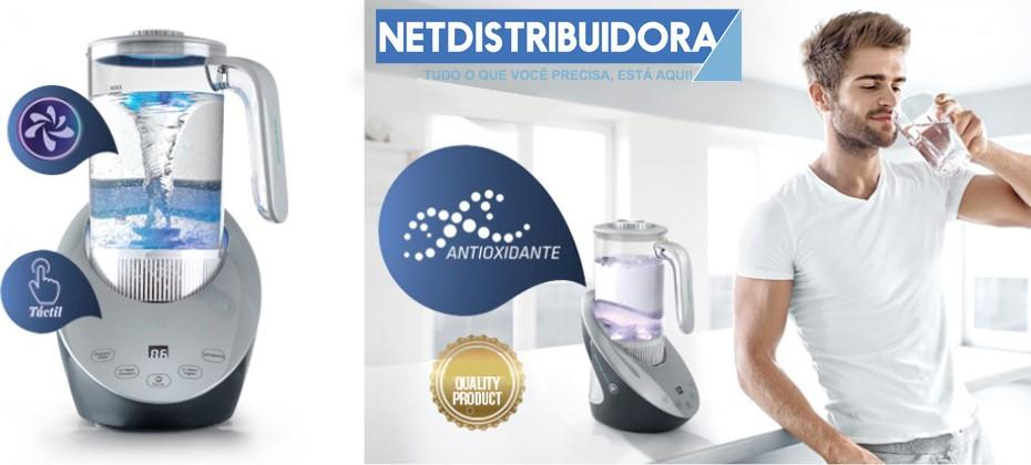 Água hidrogenada - Netdistribuidora