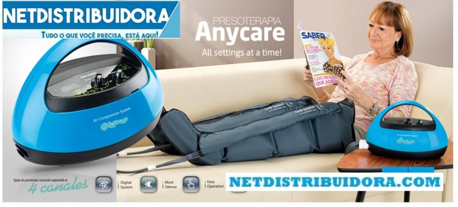 Pressoterapia Anycare - Netdistribuidora